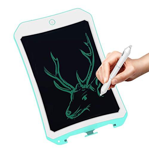 JRD&BS WINL LCD-Zeichentablett für Kinder, Tragbare löschbare Schreibtafel für ältere Menschen, handschriftliches digitales Tablet-Doodle-Pad für 4-8-jährige Jungenschule (Blau2)
