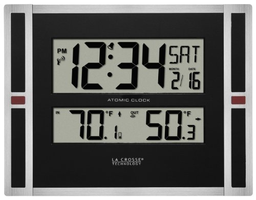 La Crosse Technology 513-149 Atomic Digital Wall Clock