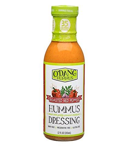 O'DANG HUMMUS Roasted Red Pepper Hummus Dressing ( 2 PACK )