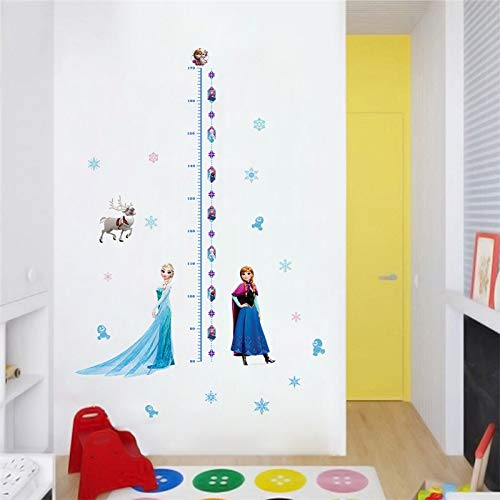 Best Quality - Wall Stickers - vivid cartoon frozen wall stickers for kids room bedroom diy wall decoration stickers 3d anna princess movie posters - by LHOUSSAINE - 1 PCs
