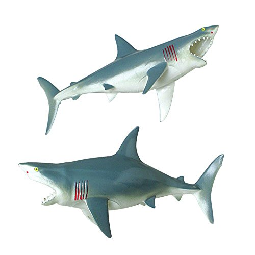US Toy Great White Shark Squeaky Bath Tub Toy