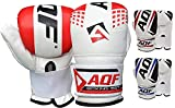 AQF Guantes De Boxeo Heavy Saco De Boxeo Gloves MMA Punching Mitts Kickboxing Sparring Muay Thai Martial Arts