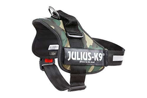 JULIUS-K9 - Arnés para perros, color Marrón, talla XL / 2