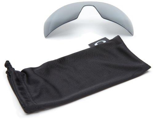 Oakley Rl-oil-rig-1 Lentes de reemplazo para gafas de sol, Iridio Negro Polarizado, Talla Única Unisex Adulto