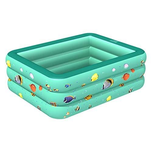 Hunpta @ Piscine Gonflable familiale Swim Center, Piscines gonflables, Piscine Gonflable familiale, Piscine familiale Gonflable rectangulaire, pour Plage d'été extérieure intérieure