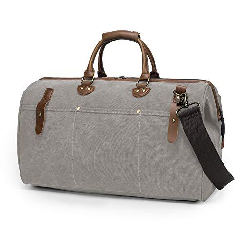 TAK Vintage Reisetasche Weekender Duffle Bag Wochenend Tasche Reisen Handtasche...