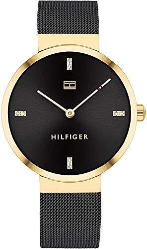 Tommy Hilfiger Reloj Analógico para Mujer de Cuarzo con Correa en Acero Inoxidable 1782216
