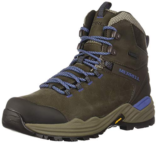 Merrell Women's PHASERBOUND 2 Tall Waterproof Hiking Shoe, Boulder, 08.0 M US