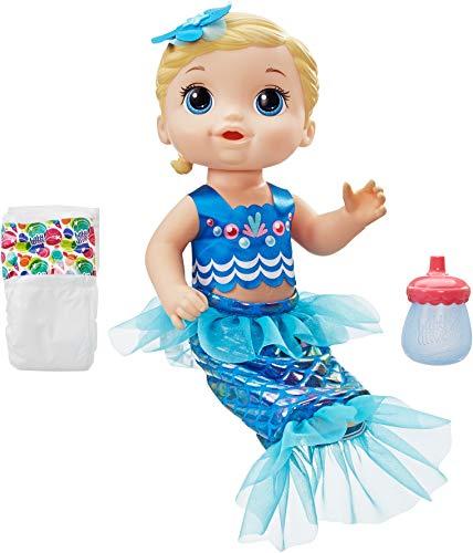 Baby Alive Shimmer ?n Splash Mermaid (Blonde Hair)