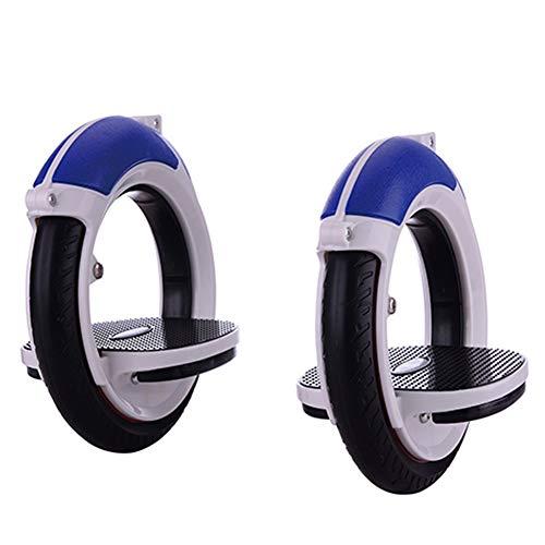 BZCWOOK Orbitwheel Double Wheel Roller Cycle Singular Self Propelled Skates Boardless Skateboard Adult
