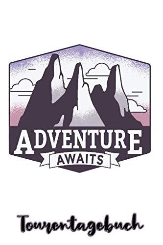 Tourentagebuch: Das Skitourentagebuch zum Ausfüllen für Tourengeher Bergsteigen || Platz für 50 Skitouren || Mit Seitennummerierung und Register