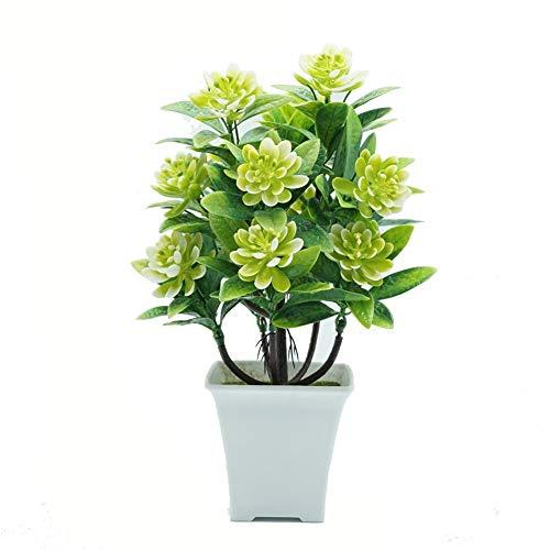 Blumen YNFNGXU Gefälschte Verzierungen Wasser-Lilien 5 Farben verwendet for Hauptdekoration Simulation Plastikblumen Grünpflanzen Kleine Topfpflanzen (Color : C)