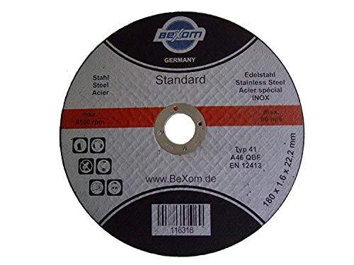 Olbrich de la Industria requisitos Disco de corte 180x 1,6mm inox, Acero...