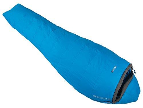 Vango Treklite Lightweight Sleeping Bag, Imperial Blue, Ultra 900