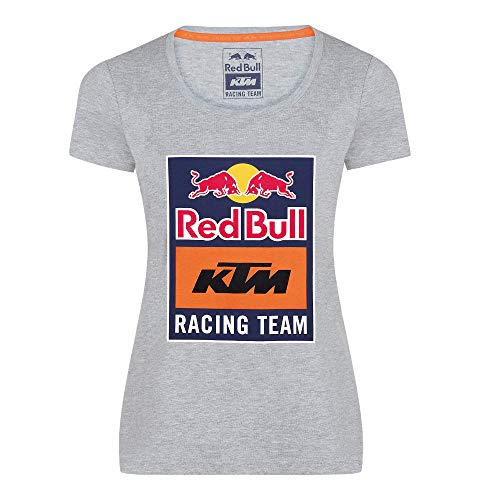 Red Bull KTM Emblem T-Camisa, Gris Mujeres Small Camisa Manga Larga, KTM Racing Team Original Ropa & Accesorios