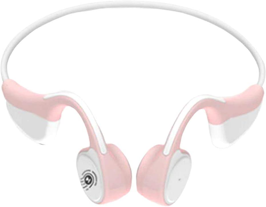 #N/A V9 Wireless Touch Control Stereo Earphone Headset Headphone For Sports Gift - Red Pink