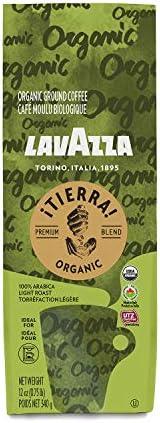 Lavazza Tierra Usda Organic Ground Coffee Premium Blend Pack Of 6 X 12 Oz Each product image