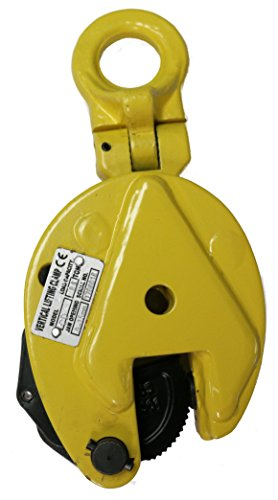 V-Lift Industrial Vertical Plate Lifting Clamp Steel 4408 lb WLL