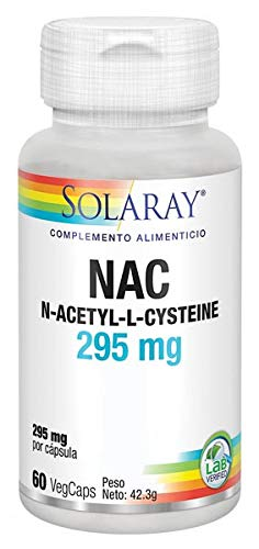 Solaray NAC 295mg | 60 VegCaps