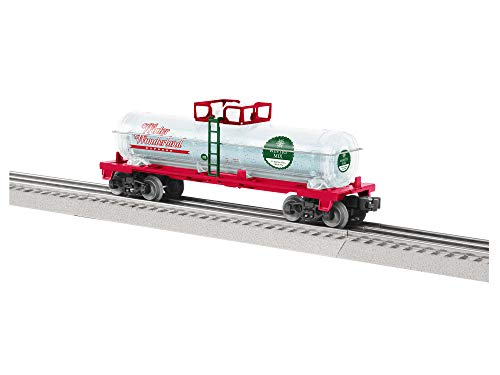 Lionel Christmas, Electric O Gauge Model Train Cars, Wintery Mix Tank Car
