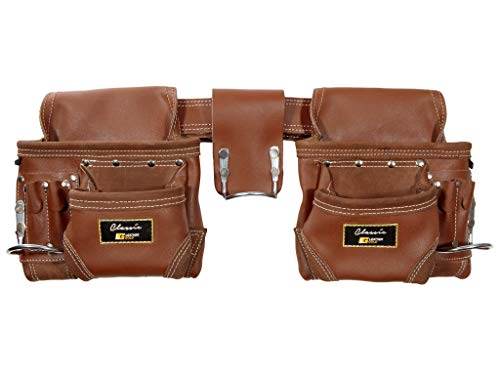 Leather Gold Genuine Leather Framer's Rig Tool Belt