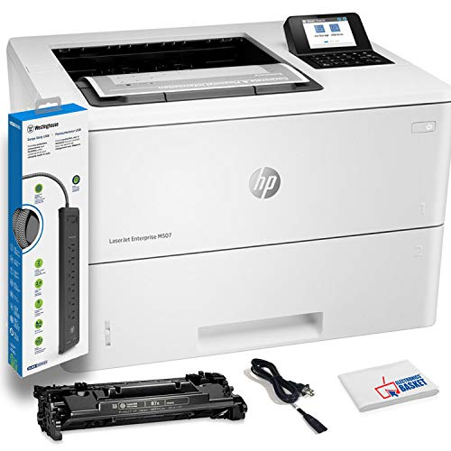 For Sale! HP Laserjet Enterprise M507dn Monochrome Laser Printer with Duplex Printing (1PV87A) with ...