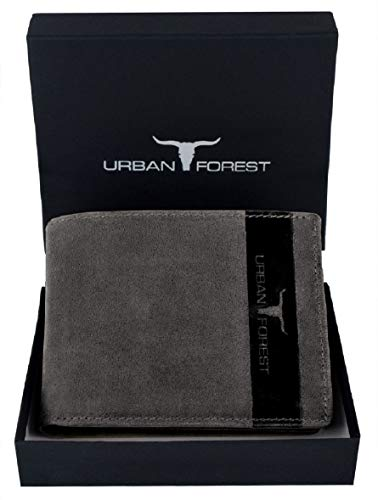 Urban Forest Oklahoma Dark Brown Leather Wallet for Men