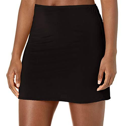 Jones NY Women's Silky Touch 16 Anti-Cling Above Knee Half Slip, Black, M