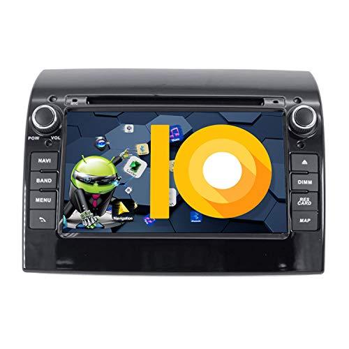 ZWNAV 17,8 cm Android 9.0 Autoradio Navi GPS Navigation für Fiat Ducato für Citroen Jumper für Peugeot Boxer 2008–2015, 2G RAM 16G ROM, DVD-Player, WIFI, Bluetooth, SWC,
