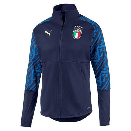 PUMA FIGC Italien Stadium Away Trainingsjacke EM 2020 Herren dunkelblau/blau, XXL