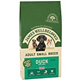 James Wellbeloved Complete Dry Adult Small Breed Dog Food Duck and Rice, 7.5 kg