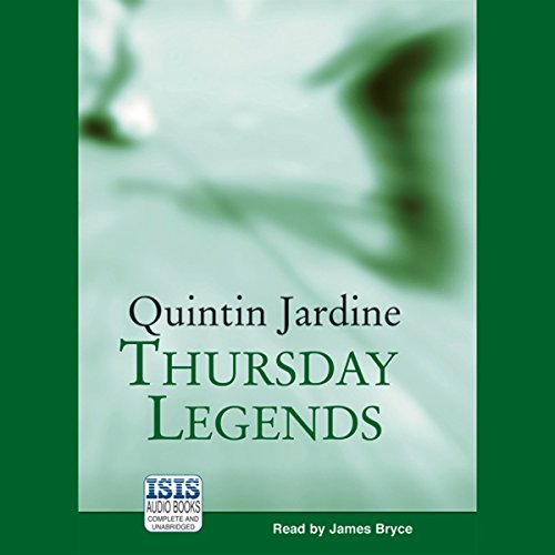 Thursday's Legends audiobook cover art