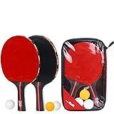 Tabla Raqueta de Tenis y Juego de Bolas (2 Raquetas y Bolas 3) Conjunto de la Familia, Conveniente para Muchos Lugares al Aire Libre, Tales como la Familia