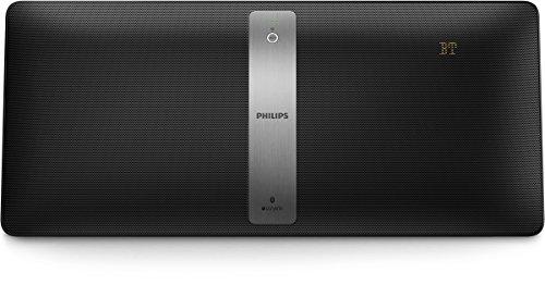 Philips BM50B Impianto Stereo Multiroom senza Cavi, Sistema Izzy, Bluetooth, Compatto e Potente, Nero