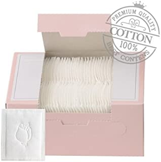 SoonSom Korea - Embossed Cotton Pads made with 100% natural cotton 100pc (White Cotton)
