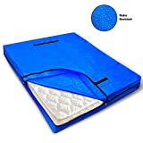 VENO Mattress Bag with 8 Handles for Moving and Storage, Twin Size, Reusable Heavy-Duty Mattress Protector with Strong Zipper Closure, Extra Thick Cover, Encasements, Made of Recycled Material