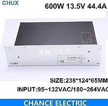 13.5v Power Supply 600w 44.4A 110 or 220V to 13.5v for CNC led Light (S-600W-13.5V)
