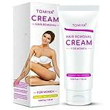 Tomiya Premium Women's Hair Removal Cream - Skin friendly Painless formula Hair Remover Cream with Aloe Vera & Vitamin E - Depilatory Cream Special Designed for Women