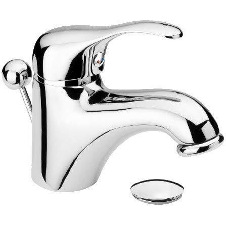 Miscelatore lavabo MUSA M10 con piletta - rubinetterie REMER