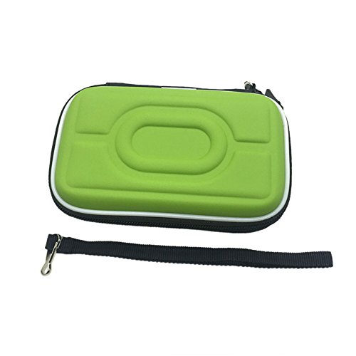 Meijunter Custodia rigida in EVA Cassa Borsa Case Bag per Nintendo Gameboy Advance GBA Gameboy Color GBC consolle (verde)