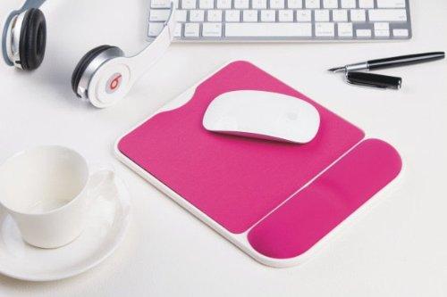COCOPARK Wrist Comfort Mouse Pad/Mouse Mat,Ergonómico Memoria Diseño Espuma Mouse Pad, comodidad de la muñeca alfombrilla de ratón/ratón MAT, Ratón de Ordenador de muñeca Soporte Pad