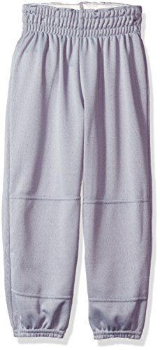 Wilson Youth Basic Classic Fit Baseball Pant, Grey, Small