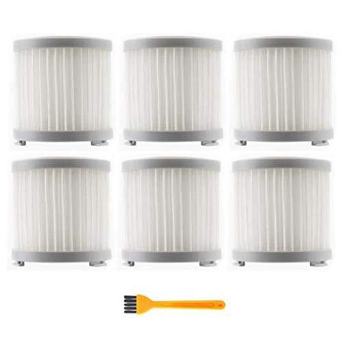 Uniquk Filtro HEPA para Jimmy JV51 CJ53 C53T CP31 Aspirador InaláMbrico de Mano Filtro HEPA Filtro de Repuesto