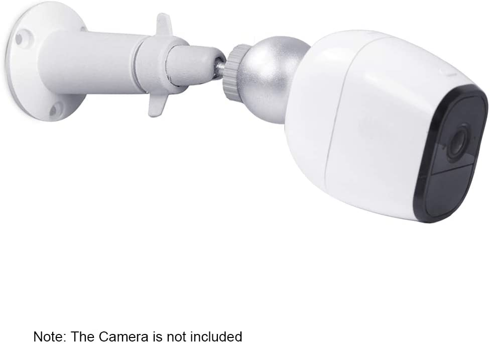 Janhiny 1PCS Magnetkugel-Wandhalterung f/ür Arlo HD Wei/ß Arlo Pro Arlo Pro 2 Arlo Go /Überwachungskamera