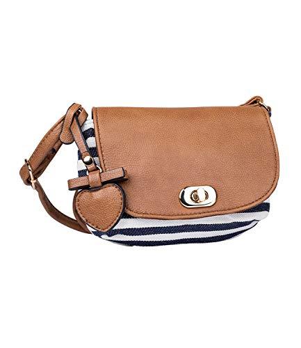 SIX Mini-Bag im maritimen Look (726-728)