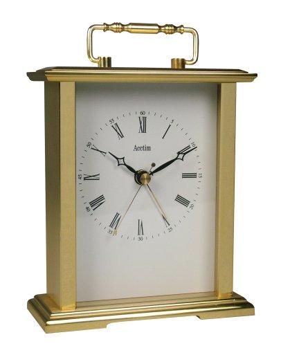 Acctim 36518 Gainsborough - Reloj de Mesa, Color Dorado