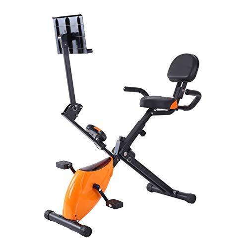 DJDLLZY Las bicicletas de ejercicio de la aptitud, la aptitud del Ministerio del Interior plegable magnético que hace girar el Control Giratorio de bicicletas multi-función estable Lazy Cardio Trainer