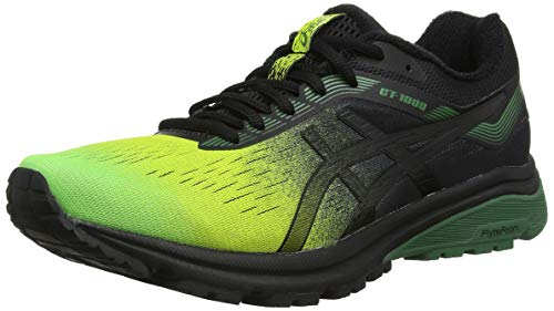 Asics Gt-1000 7 SP, Zapatillas de Entrenamiento para Hombre, Verde (Neon Lime/Black 300), 45 EU