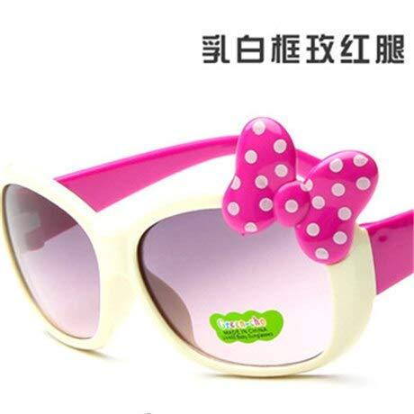 Gafas de Sol Niños Gafas de Sol Niños Princesa Bebé Lindo Hello- Gafas Venta al por Mayor Niños Gilrs Suanglasssummer Style Black