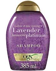 Ogx Sarı Saçlar İçin Renk Koruyucu Lavender Platinum Şampuan, 385 Ml